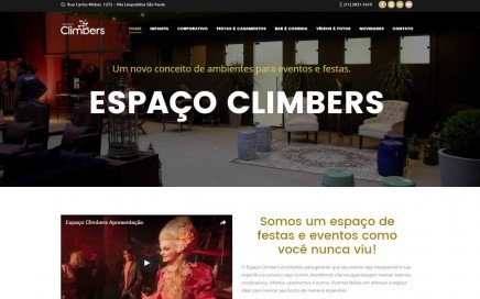 Site Institucional em WordPress