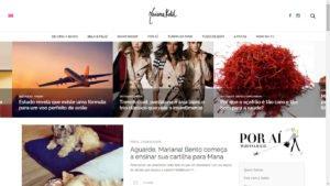 Desenvolvimento do Blog Mariana Kalil
