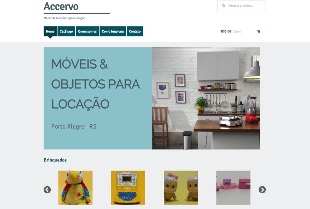 bdcfbd541 Criação de loja virtual Accervo