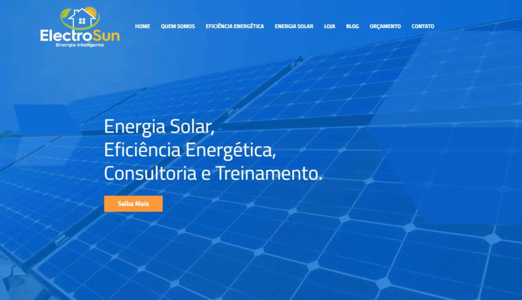 50b306bd4 Criação de loja virtual ElectroSun